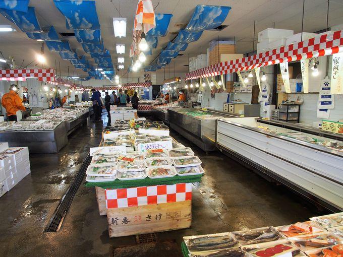魚のアメ横で一番人気の角上魚類!本店はここ寺泊