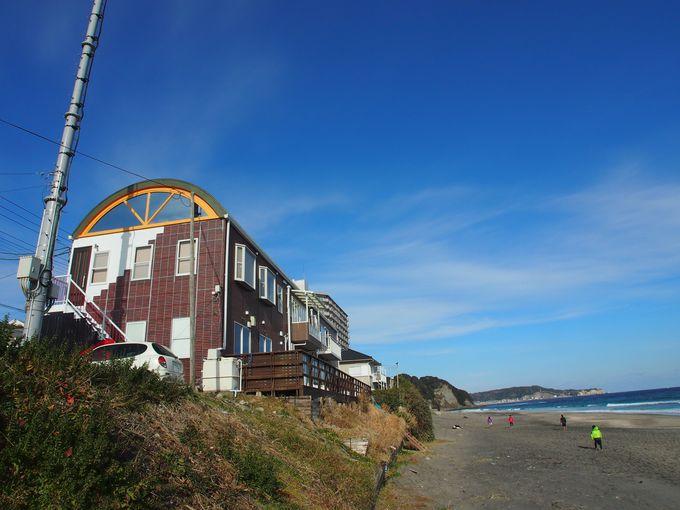 部原海岸を見下ろす絶好のロケーション