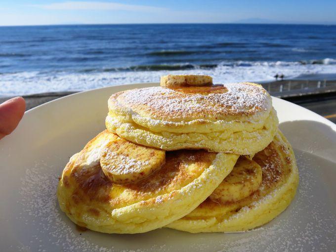 海×パンケーキはインスタ映え必至!