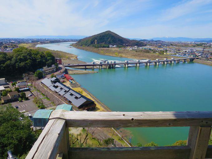 木曽川が美しい!「国宝・犬山城」天守閣から絶景を楽しむ