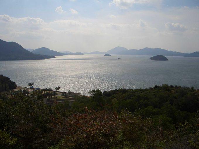 瀬戸内海の景色を見るならウォーキングコース
