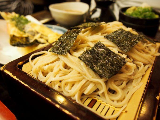 天ぷらがモチモチ!国産そば粉と井戸水で打ったお蕎麦屋さん「やす武」