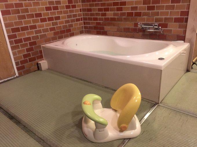 家族全員で楽しいお風呂