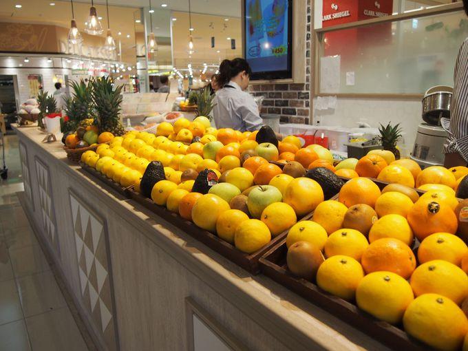 「TAMARU」広島の老舗果物店の新鮮ジュースでビタミンチャージ