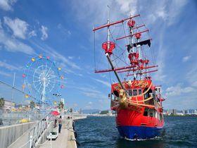 海賊船で宮島へ!広島観光ファミリーにおすすめ「マリーナホップ」|広島県|トラベルjp<たびねす>