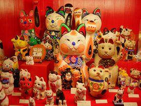 700の招き猫に招かれて〜開運!岡山「招き猫美術館」