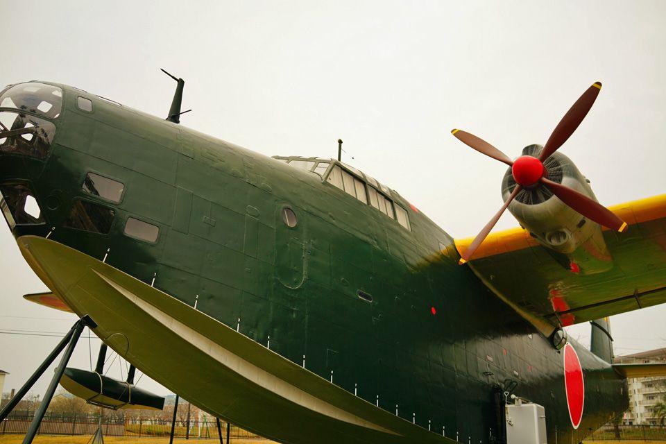 航空機好きにはたまらない実機展示の数々