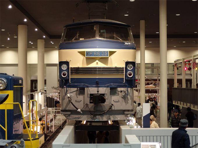 乗って、潜って、色々な角度から列車を見ることができる!