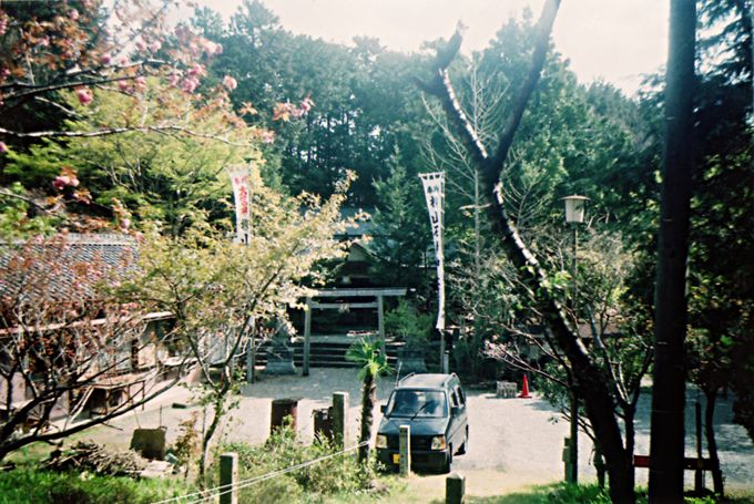 横山石神神社ならではの「願かけ石」は、いただいて帰るべし!