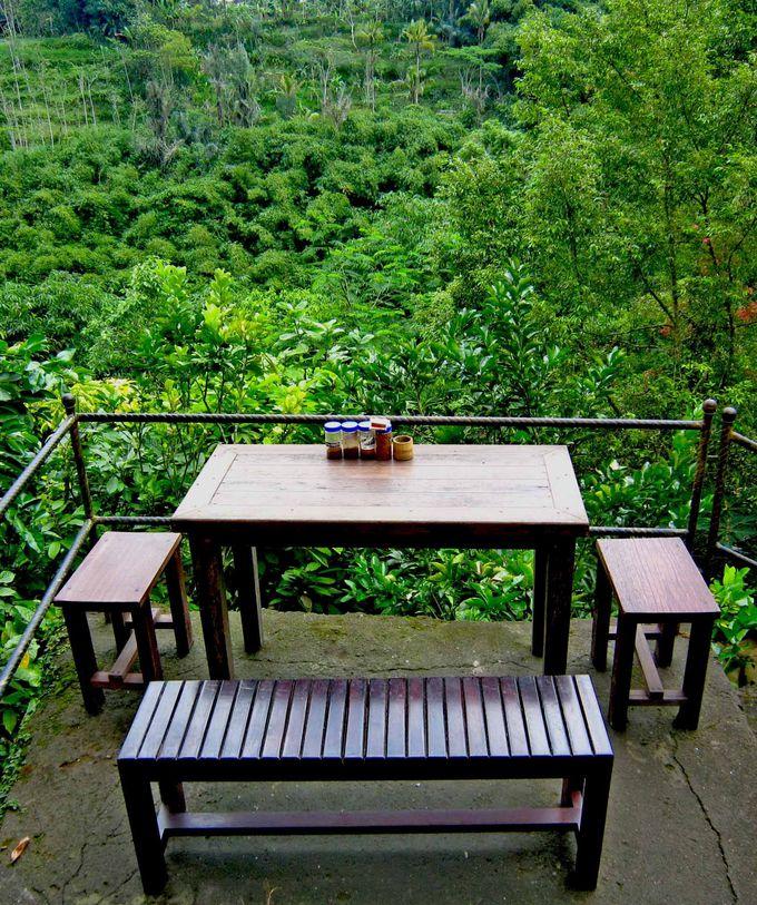 バリの絶景を眺めながらコーヒータイム