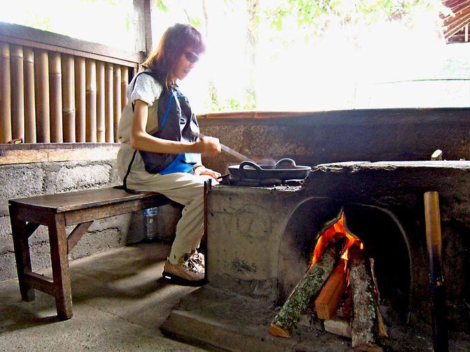 コーヒー製造工程を見学&体験