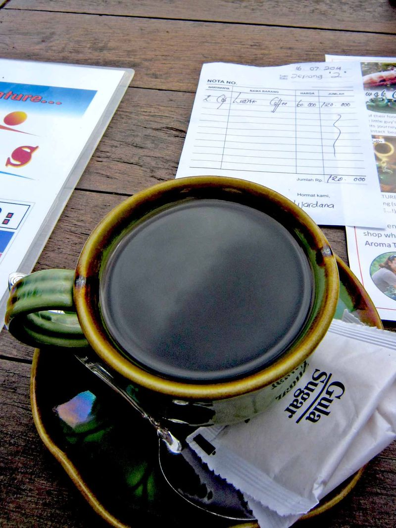 バリ島の糞コーヒー!「I Love BAS」で本物のコピ・ルアックを堪能