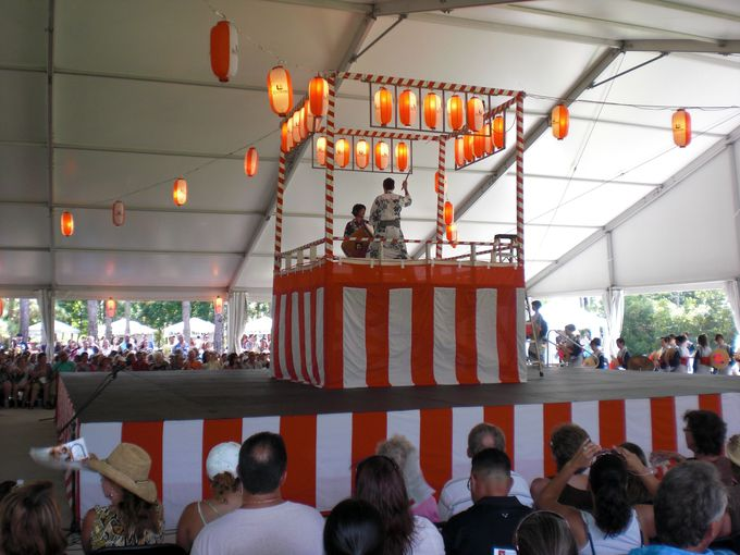 定期的な日本のお祭りやイベントを開催中