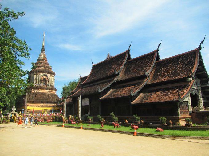 タイらしいお寺の数々