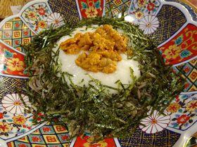 新鮮生ウニ×蕎麦!熊本「天草蕎麦処 苓州屋」は生ウニ丼を超える美味さ|熊本県|トラベルjp<たびねす>