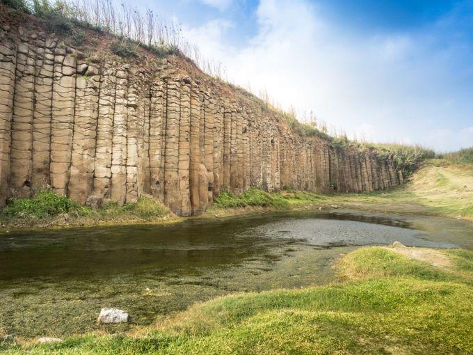 台湾澎湖の柱状玄武岩には、世界遺産クラスの価値がある!