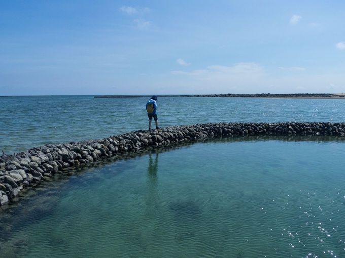 澎湖の海にはハートがたくさん散らばっている!