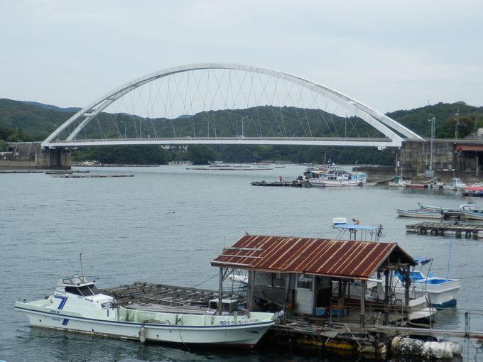 パールロード北側の出発点・麻生の浦大橋