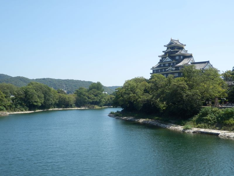 岡山の市街地を一望のもとに!宇喜多・小早川・池田氏の歴史が積み重なった岡山城