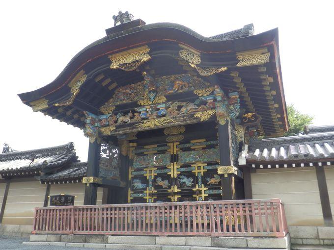 京都駅から徒歩15分:西本願寺