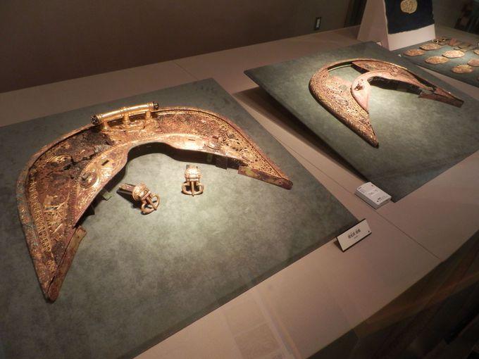 国宝指定!藤ノ木古墳から出土した豪華な副葬品の数々