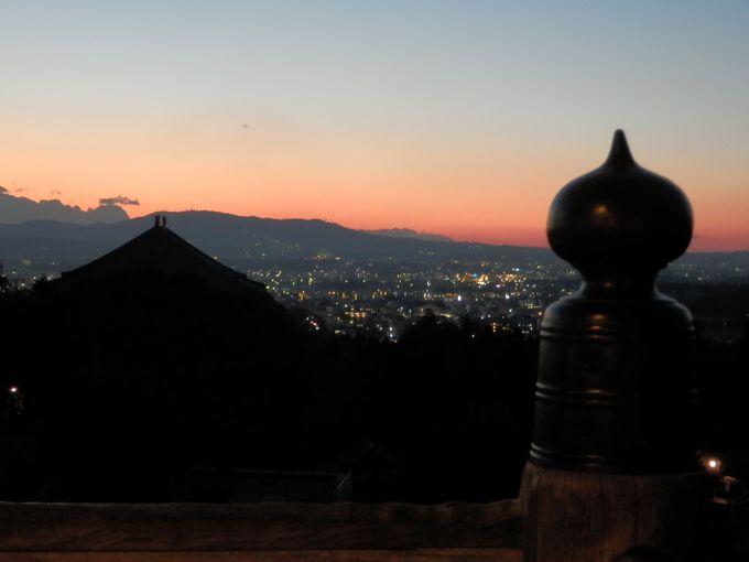 奈良の市街地を一望!奈良屈指の夕景スポット