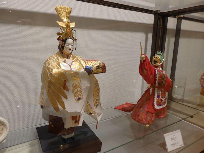 平安以来の伝統を伝える奈良人形の数々