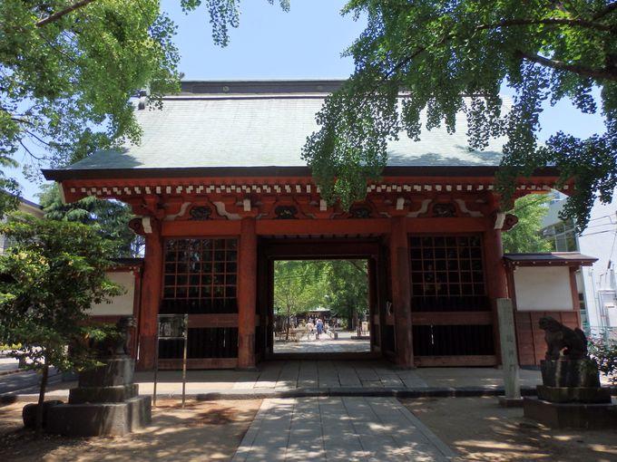 上野・寛永寺と深い関わりを持つ随神門