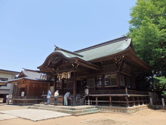 創建は平安時代!千数百年、変わらず崇敬されている本殿