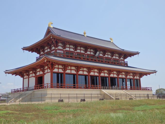 平城宮跡の象徴!2010年に復原された第一次大極殿