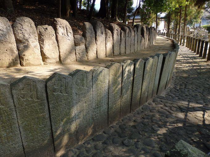 空海が築いた!?御廟所の周囲をとりかこむ結界石の群れ