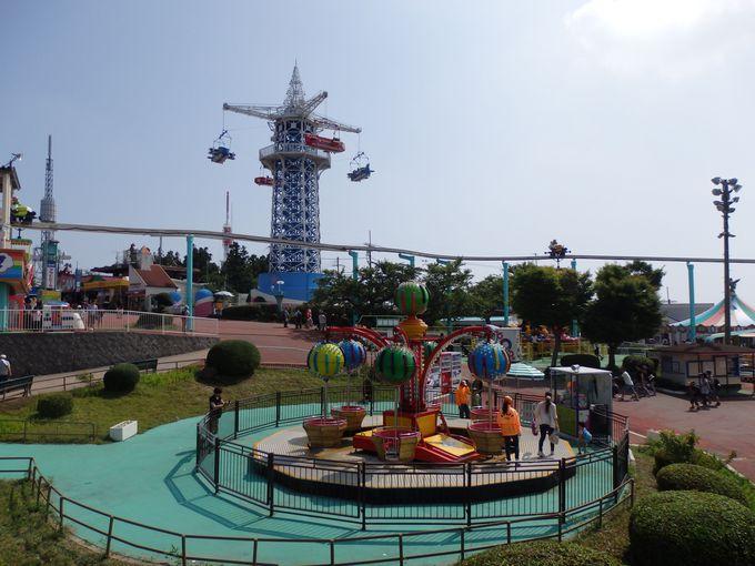 生駒山上遊園地のシンボル!飛行塔からも眺めよう!