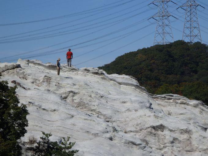 火山活動の果てに生み出された凝灰岩の世界!どんづる峯の成り立ち