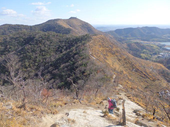 ここからがラストスパート!鷹ノ巣山から高御位山へ