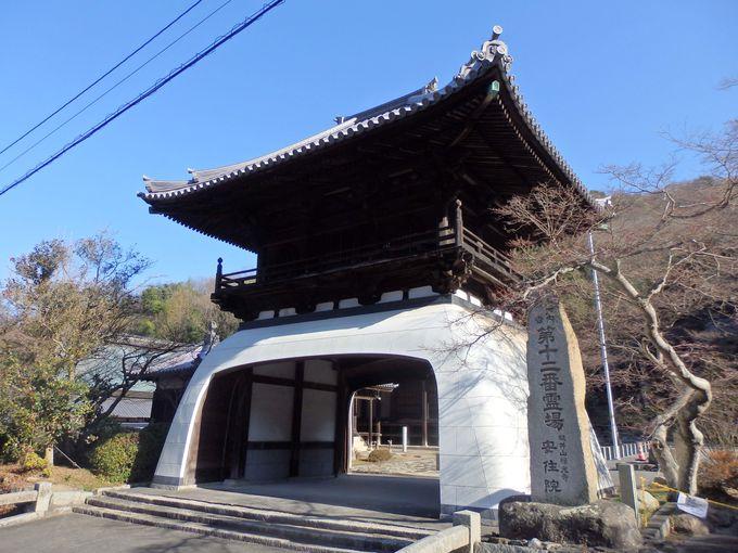県内では珍しい!龍宮門形式の鐘楼門