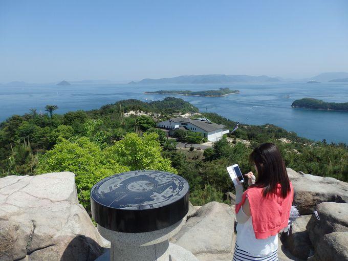 瀬戸内海&瀬戸大橋を眺望できる絶景スポット「鷲羽山」