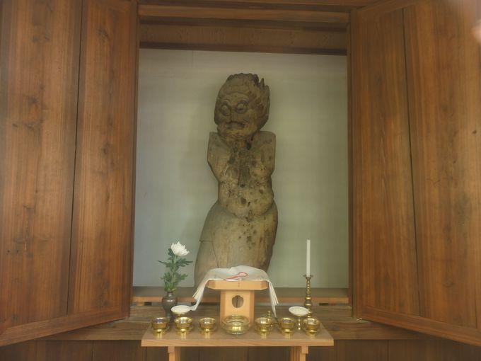 これは何?夜叉神堂に安置された夜叉神像
