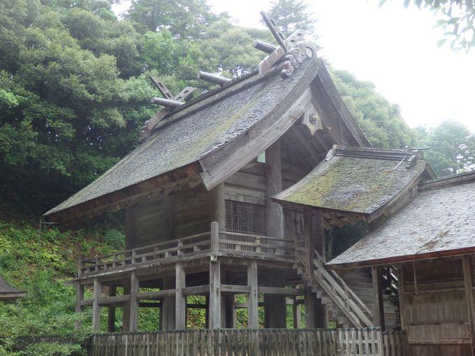 現存する最古の大社造「神魂神社」
