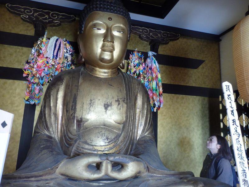 広島大仏がなぜ奈良に!?原爆慰霊と縁を持つ安堵町の極楽寺