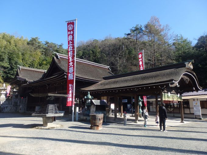 岡山市指定の文化財に登録されている旧本殿(霊応殿)