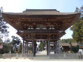 天日槍ゆかりの地?中世建築の宝庫でもある滋賀県・苗村神社