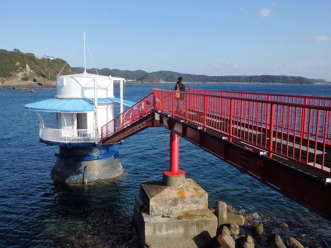 串本の海を実感!数多くの魚やサンゴを観察出来る海中展望塔