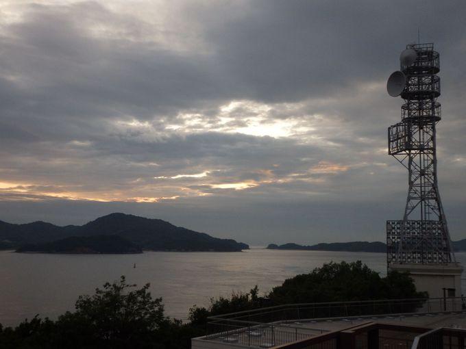 島々も眺めよう!瀬戸内海の眺め