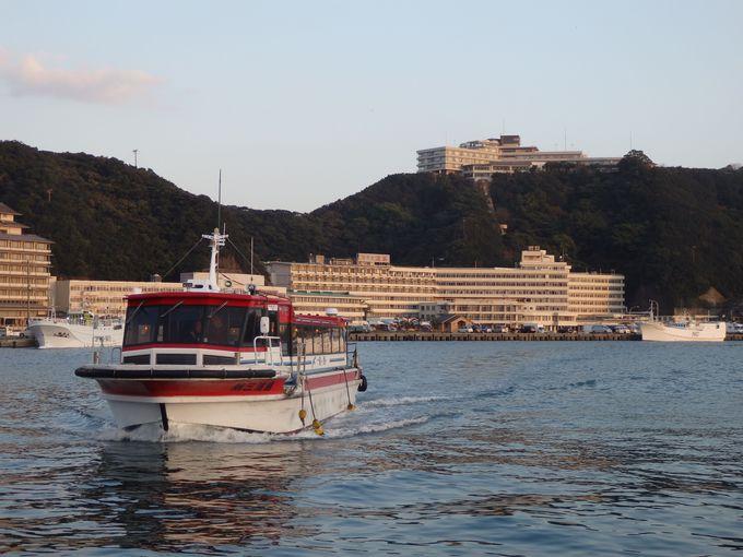 宿まで船を利用!?海の上に浮かぶホテル浦島