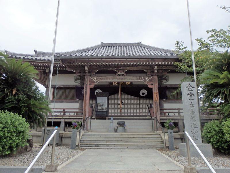 光明皇后の陵墓?大阪府最大のため池ゆかりの古刹・久米田寺