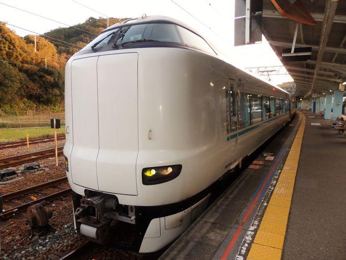 和歌山旅行の足として大活躍の特急列車「くろしお」