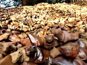 備前焼の牛の山は圧巻!奇妙な風習を伝える岡山・田倉牛神社|岡山県|トラベルjp<たびねす>