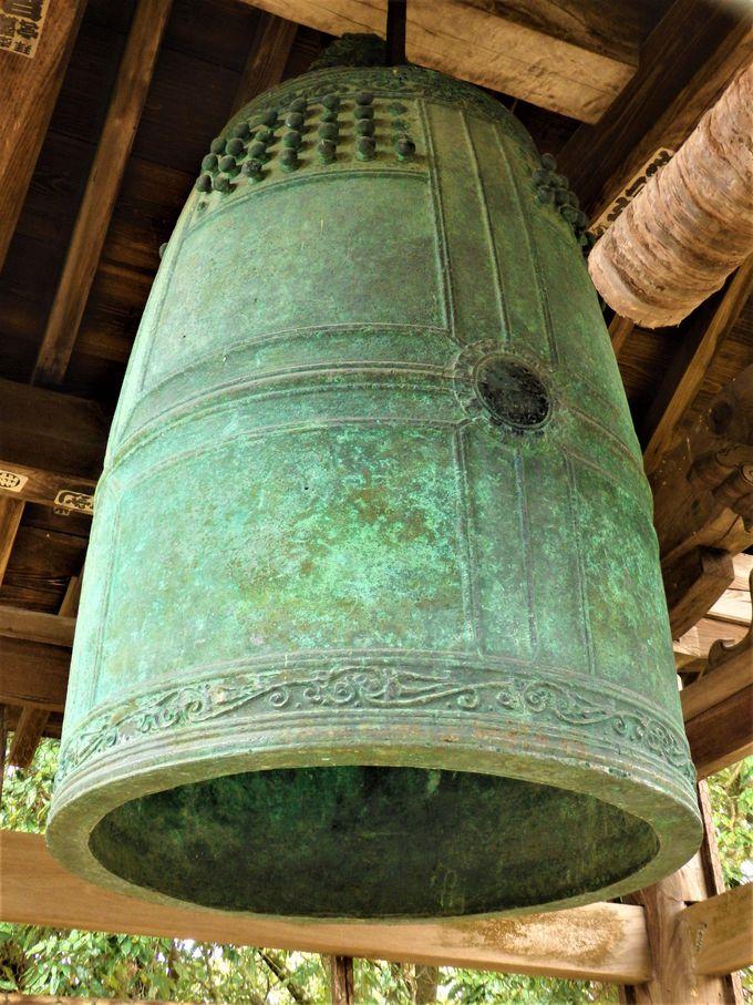 こちらも必見!日本最古の国宝・梵鐘