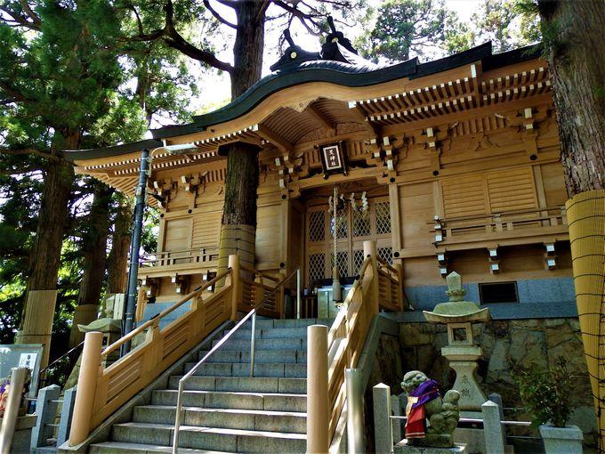 弘法大師・空海ゆかりの立里荒神社