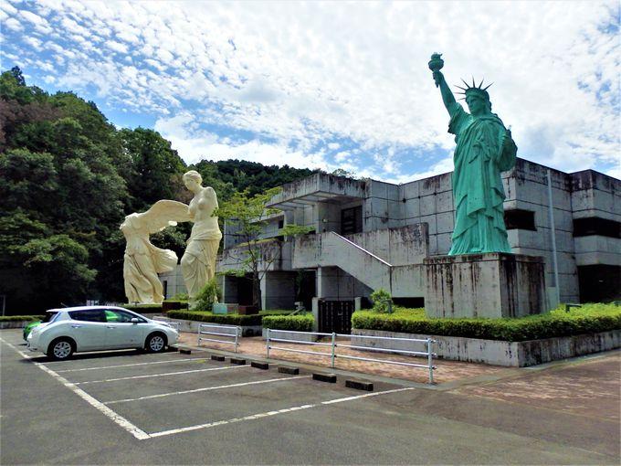 三重県津市の山中にあるルーブル彫刻美術館